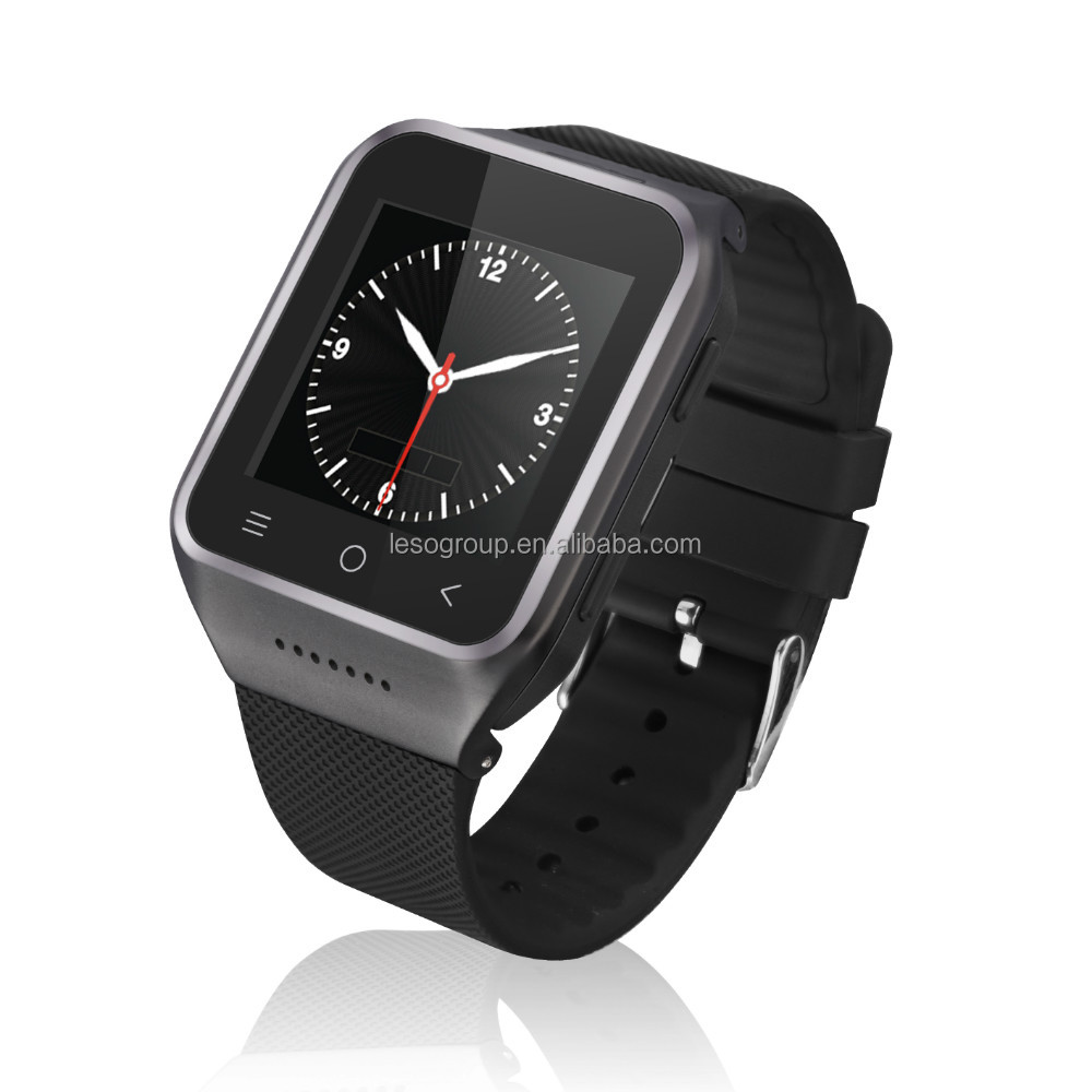 Smart Android 4.4 bluetooth SIM card GPS mobile Watch Phone
