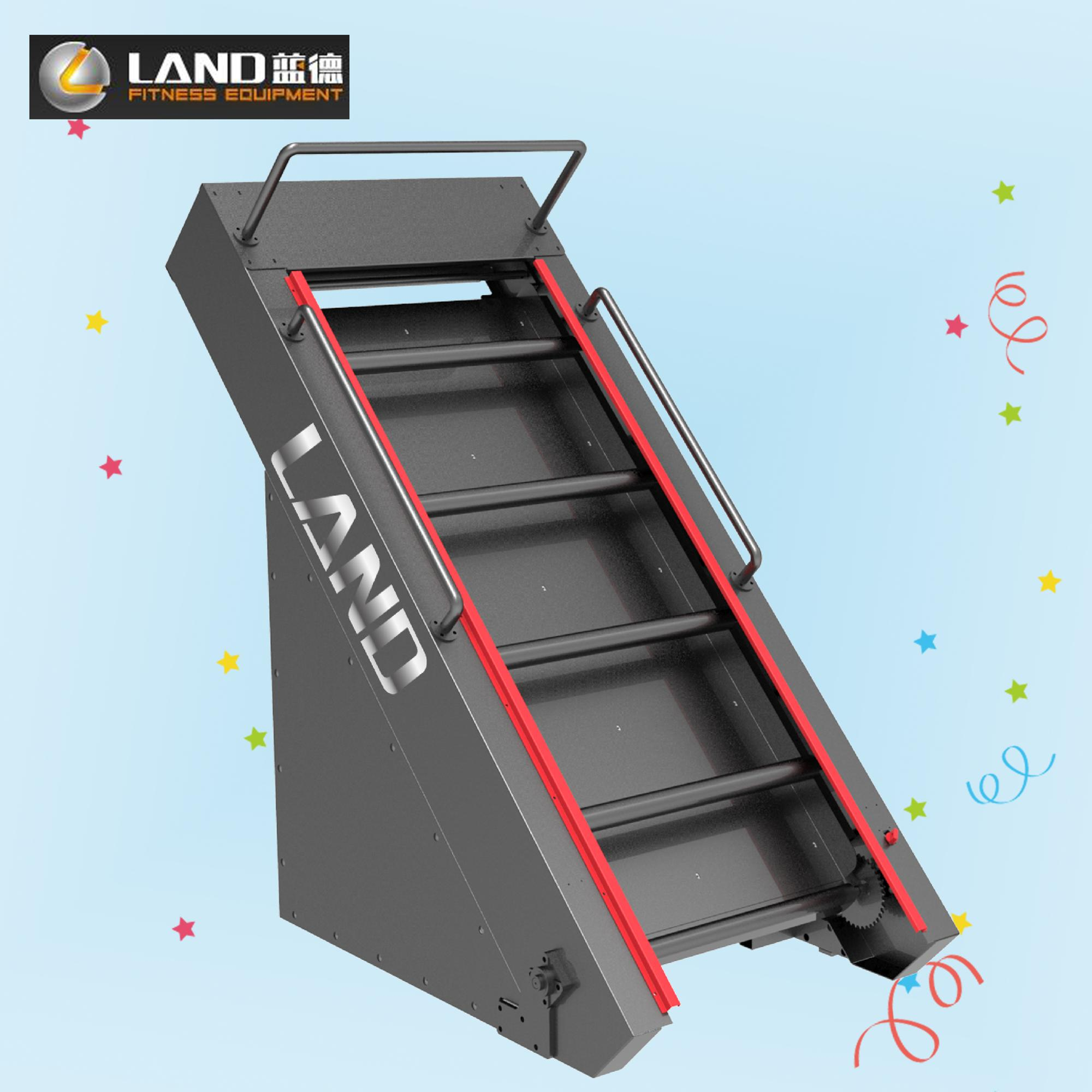 Speed Adjustable Climbing Machine Gym Cardio Equipment Land Fitness