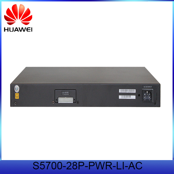 Stock Ethernet switch Huawei 24 port POE Switch S5700-28P-PWR-LI-AC