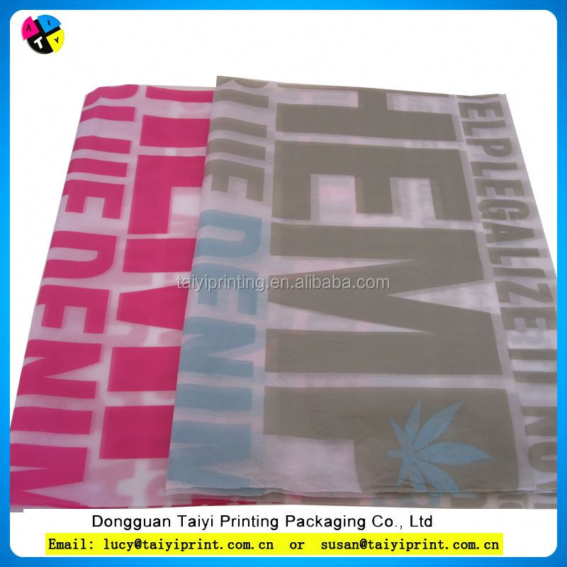 Best designed and printed wrapping tissue paper with positioning cutting