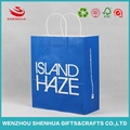 China printing factory wholesale price low cost paper bag for shopping using