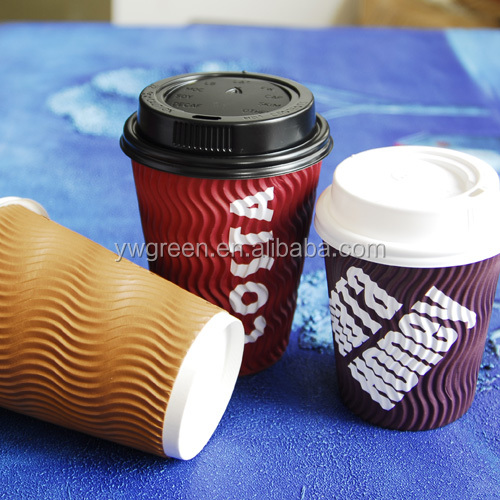 wonderful ripple paper cups 12 oz