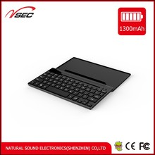 Portable folding wireless bluetooth keyboard for three System