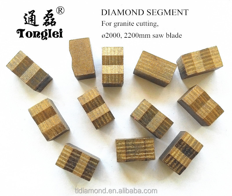 Multiple purposes diamond tools of Stone Cutting Segment for saw blade cutting stone