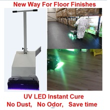 Uv LED Curing Equipment Concrete epoxy Wood Floor paint Coating