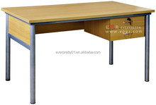 Factory Customize School Teacher Rectangular Office Desk with Drawer