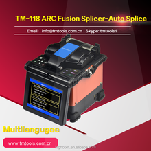 TM118 Fusion Splicer with High thermal efficiency, fast heating