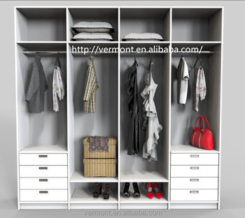 2017 Bedroom furniture clothing wardrobe design