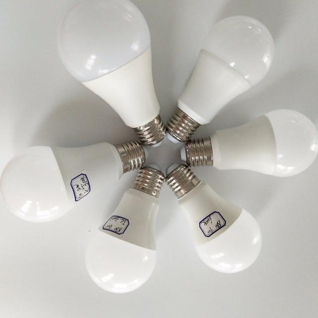 e27 b22 bulb led 6w 7w 8w 9w 10w 12w 15w 16w plastic led bulb skd lamp lights