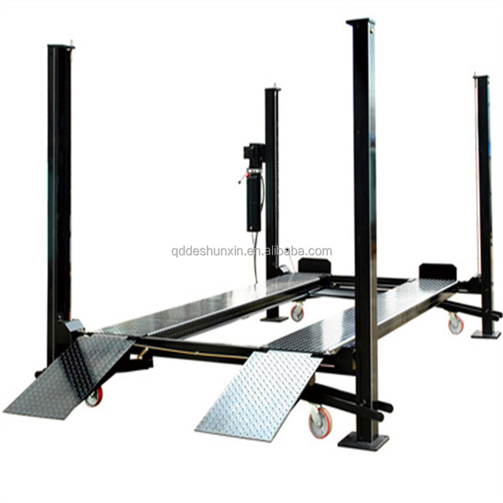 used car lift for sale and bare lifts or portable garage auto lift with CE