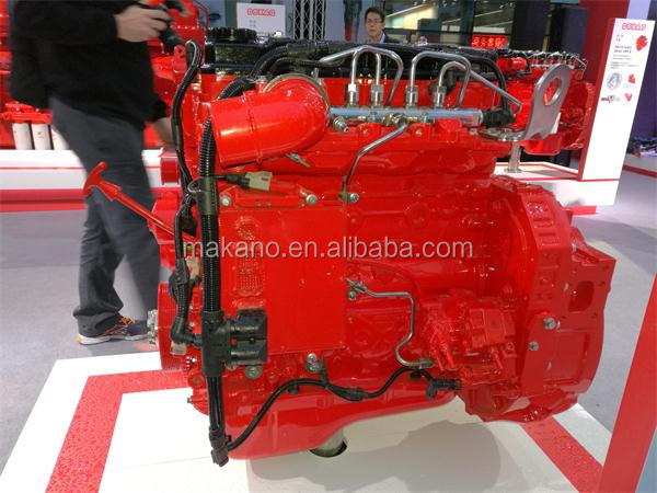 QSB Series QSB4.5 Diesel engine assembly C80 C160 for Construction Machinery