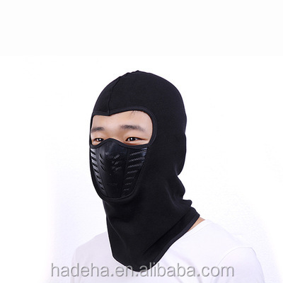 Full Cover Face Mask, Thermal Fleece Ski Bike Winter Wind Stopper Out Door Sports Neck Helmet Hat Cap /Helmet Wind Mask