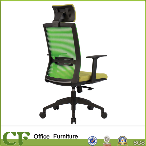Office high back mesh chair office chair ergonomic with fixed armrest