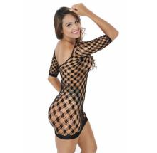 ZH0455H Sexy Transparent Night Dress Ladies Lenceria Nightie Babydoll Short Sleep dress