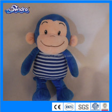 2016 promotion gift plush toy/ stuffing plush toy monkey
