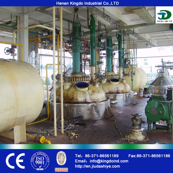 Professional Waste Cooking Oil to Biodiesel Machine By Biodiesel Production Plant
