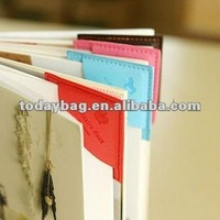 Colorful Corner PU Bookmarks TB BM016