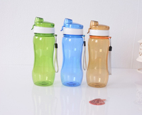 colorful customized logo plastic water bottle,bpa free drinking space cups