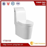 Top level one piece toilet wc ceramic cheap prison toilet