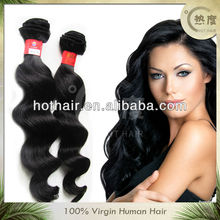 2013 popular virgin brazilian hair dubai hair weave wholesale in stock
