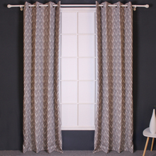 Good Permeability Jacquard Turkish Voile Curtains