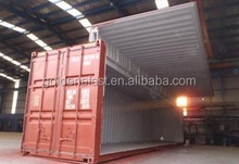 Open Side Door Container Hydraulic System Wingspan Container