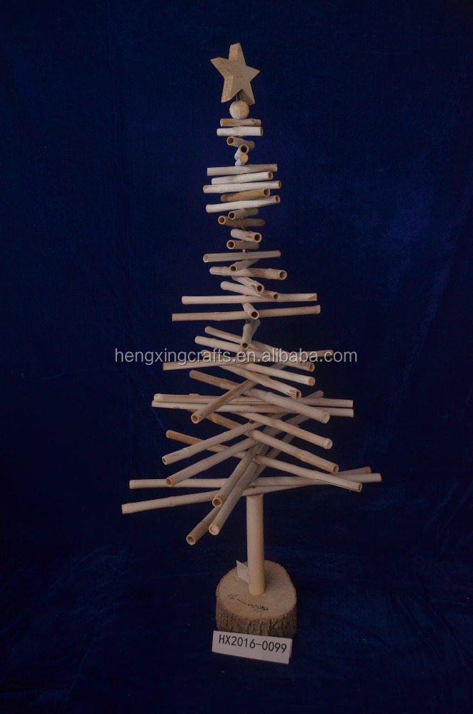 Bamboo Twig Artificial Tree Christmas Decorating