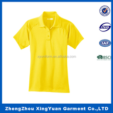 New design Cheap women yellow polo t-shirts Factory