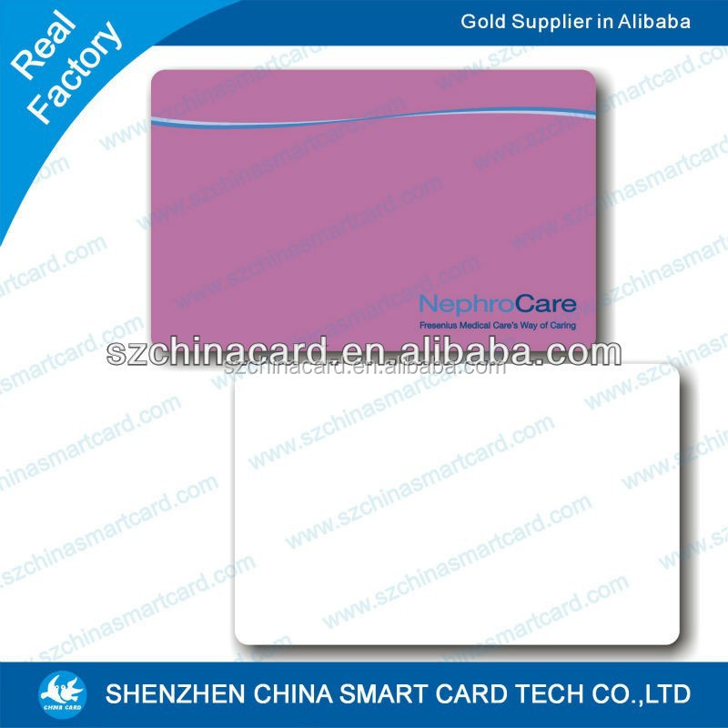China manufacturer pvc plastic welcome cards with wordings