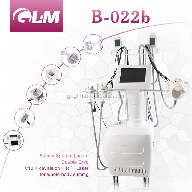 Body slimming machine RF cavitation laser pad fat reduction beauty equipment