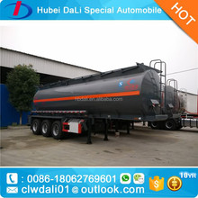 30MT hydrochloric acid tanker trailer 30,000L muriatic acid semi tank