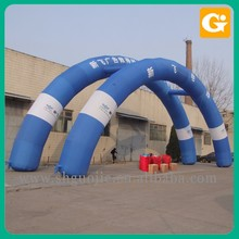 Custom inflatable arch for race