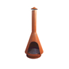 Cheap price steel charcoal chiminea home depot for outdoor warming