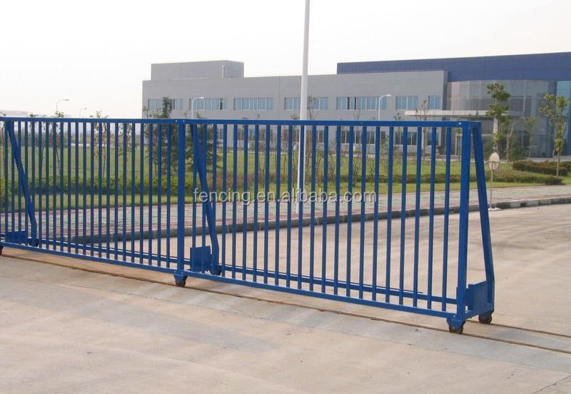 Different steel sliding gate designs price