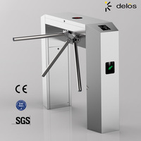 Access control automatic barrier gate turnstile
