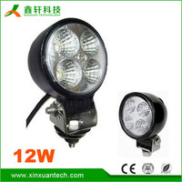 Hot sale 12w flexible IP67 waterproof cob led machine super bright led work light