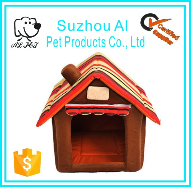 Cozy Puppy Kennel Colorful Washable Large Pet Dog House