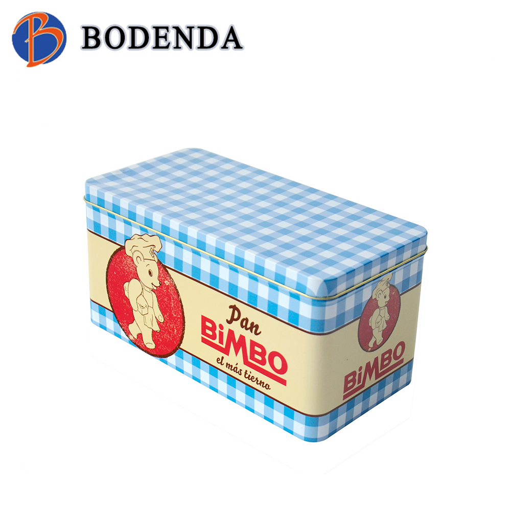factory price high quality metal square candy packaging tin box