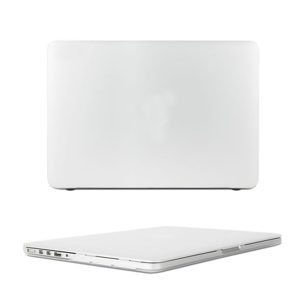 C&T Transparent Rubberized-see-through Hard Cover for Apple Macbook Pro 13""