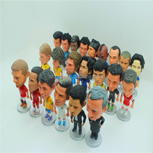 Custom made 3D soccer player action figure toy/OEM plastic action figure toy football player manufacturer