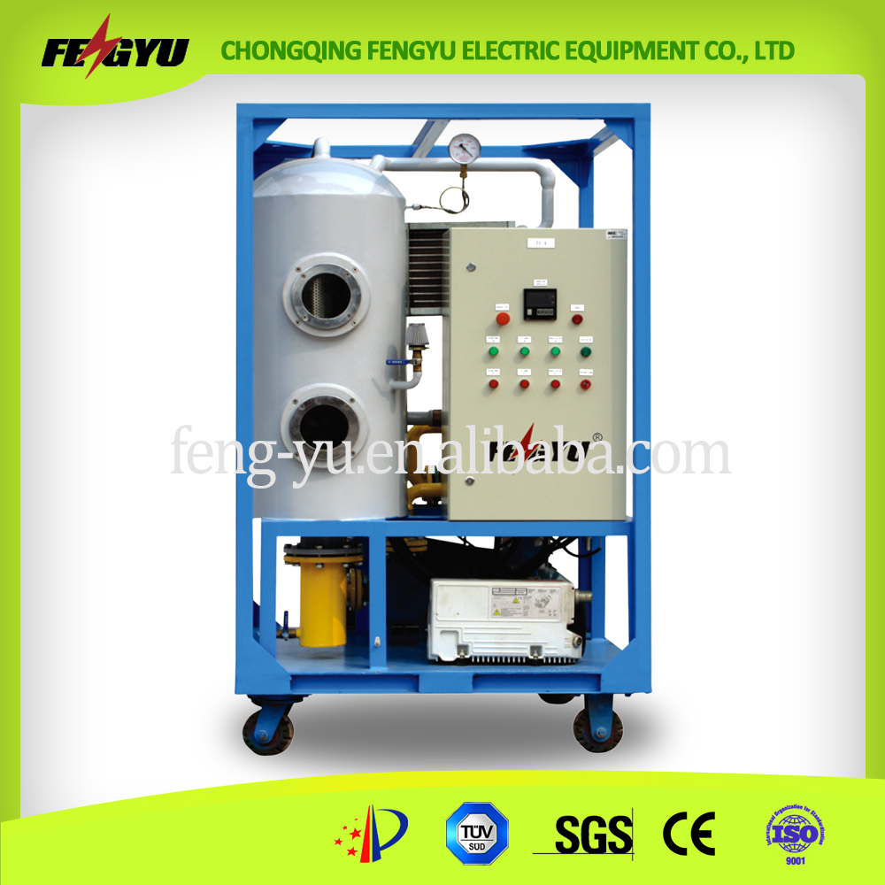 2016 hot sale used engine oil recycling refining machine for Used motor oil recycling equipment
