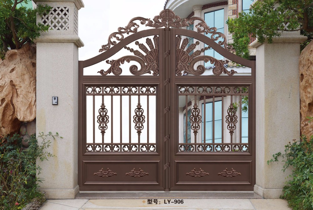 High quality house gate grill designs LY-901