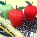 apple candy box kit - party favors, teacher gifts, back to school treat boxes