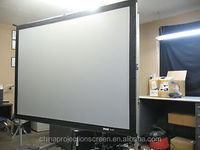 Outdoor fast fold 200''(4:3)front /rear projection screen