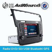 1 din autoradio gps with bluetooth /USB/SD for Volkswagen Golf 7
