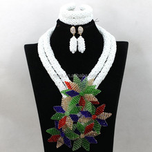 Top Sale Fashion Jewelry Sets , Beads Necklace Jewelry Set,Charm Crystal Pendant Necklace For wedding