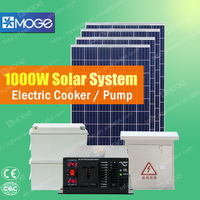 Moge solar power system price for home use 350w 550w 1kw 2kw 3kw 4kw 5kw the professional manufacturers in china XT-HP-X1000