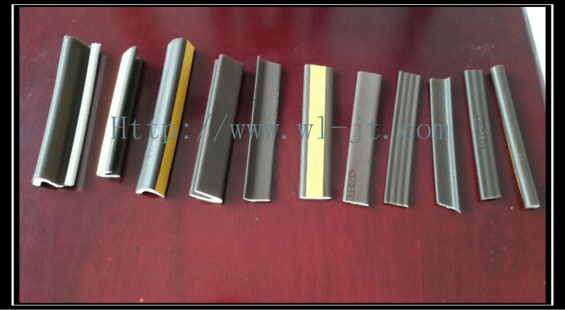 Factory customized flexible plastic desk edging strip RS06