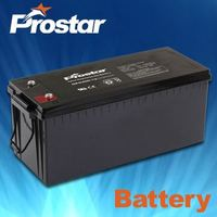 12V200AH Dry Deep Cycle Gel Battery For Off-grid Solar