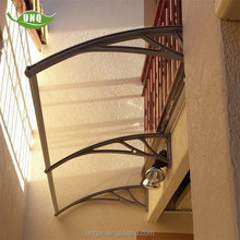 Free standing balcony cover polycarbonate sheet awning balcony models in homes
